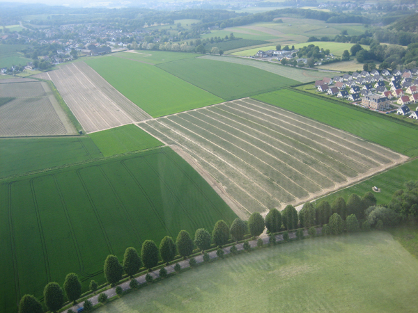 Luchtfoto Bielaar plantage